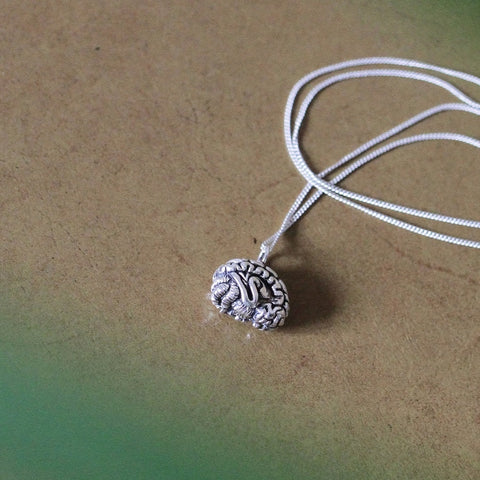 Mental Health Brain Pendant