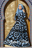muslimawear mist blue dress
