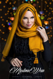 Queen Hijab Gold - Muslima Wear 3