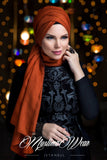 Muslima Wear Queen Hijab Amber 1