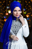 Queen Hijab Royal Blue - Muslima Wear 3