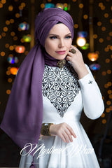Queen Hijab Trend Vizon - Muslima Wear 3