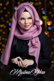 Muslima Wear Queen Hijab Rose Pearl 1