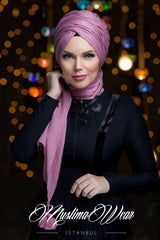 Queen Hijab Rose Pearl - Muslima Wear