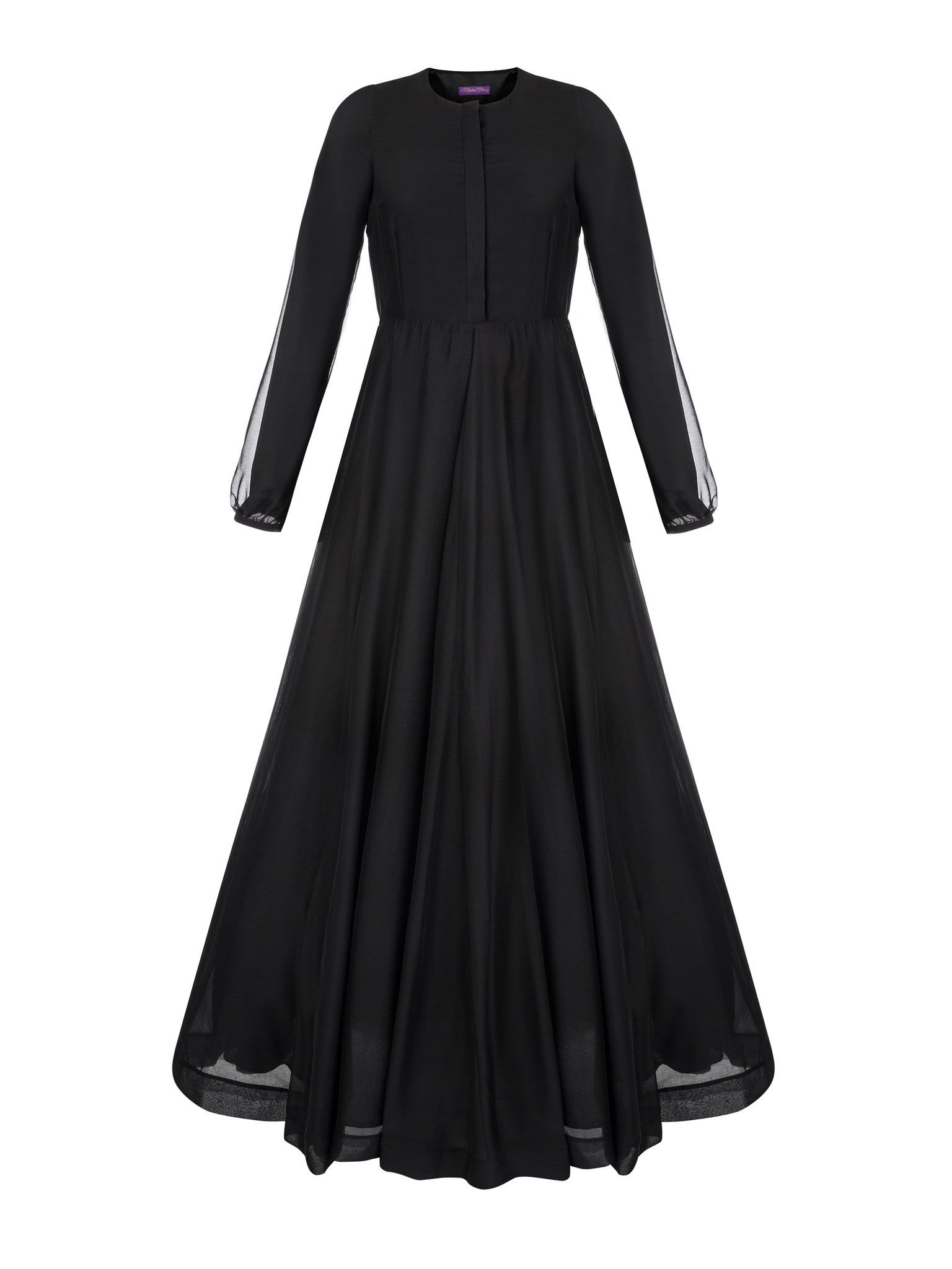 Muslima Wear French Chiffon Dress front