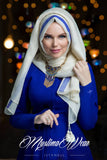 Queen Hijab Cream White - Muslima Wear