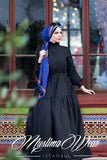 Muslima Wear Blazer Black Dress 4