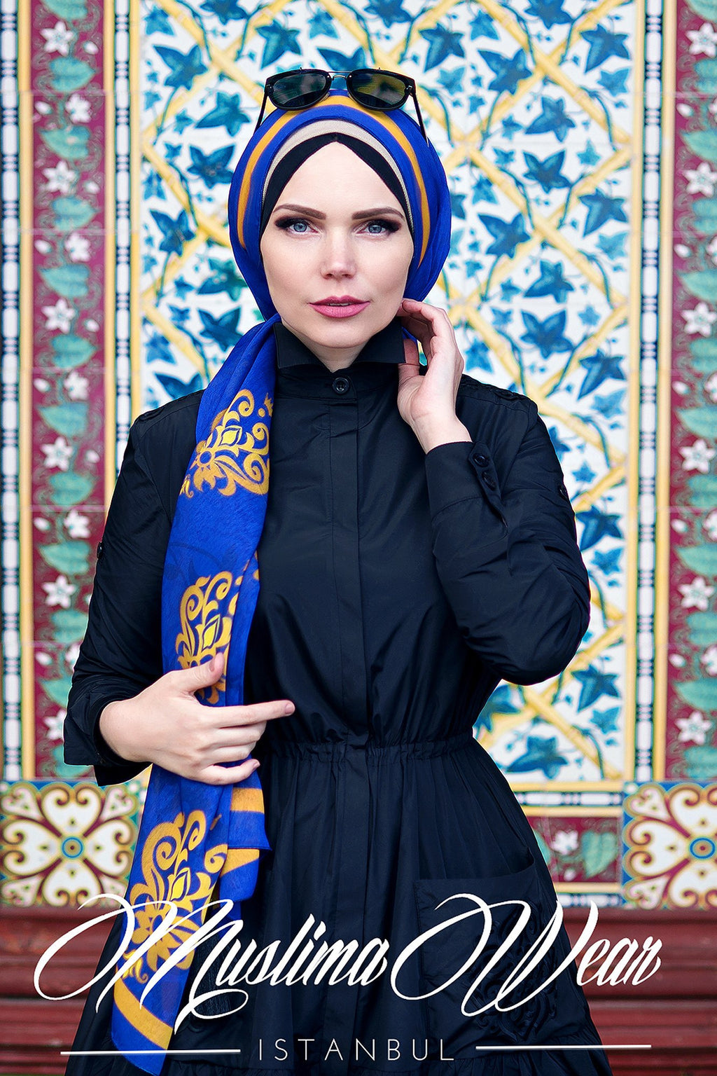 Muslima Wear  Blazer Black Dress