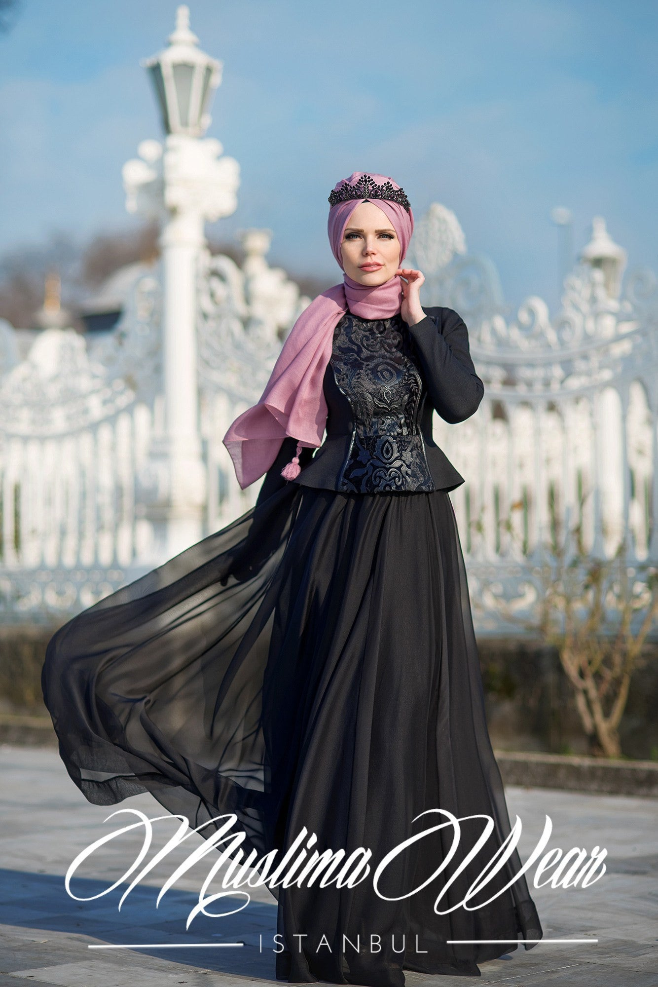 Muslima Wear Black Skirt - Muslima Wear