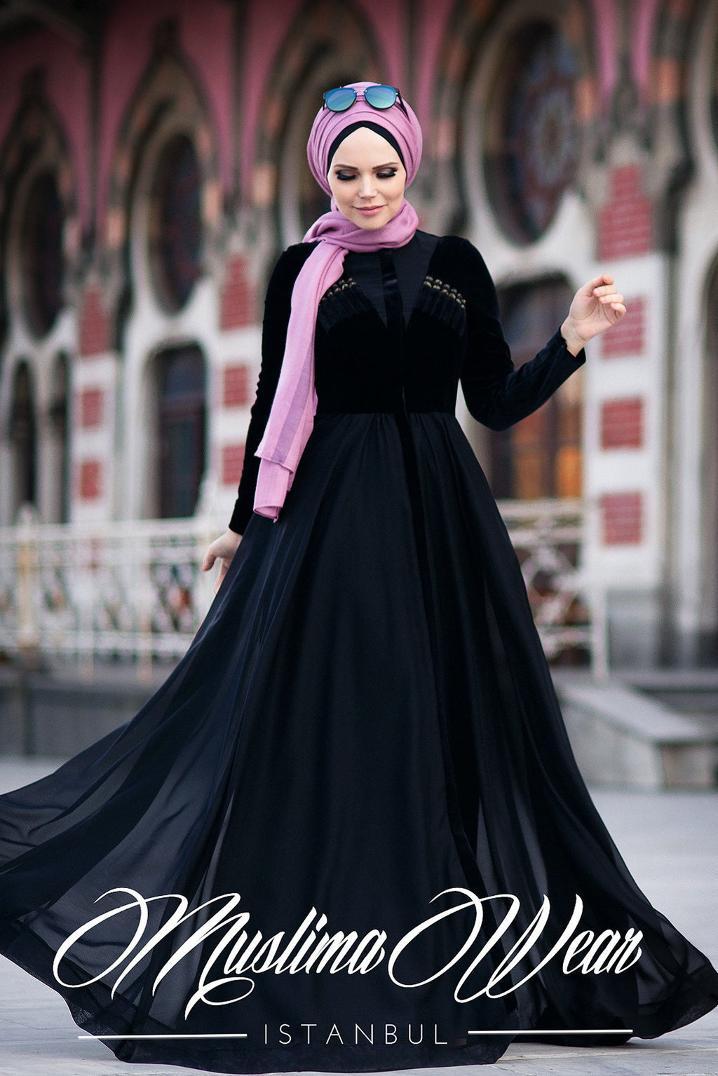 Latifa Dress Magic Black