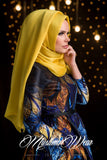 Muslima Wear Hijab Candy Yellow