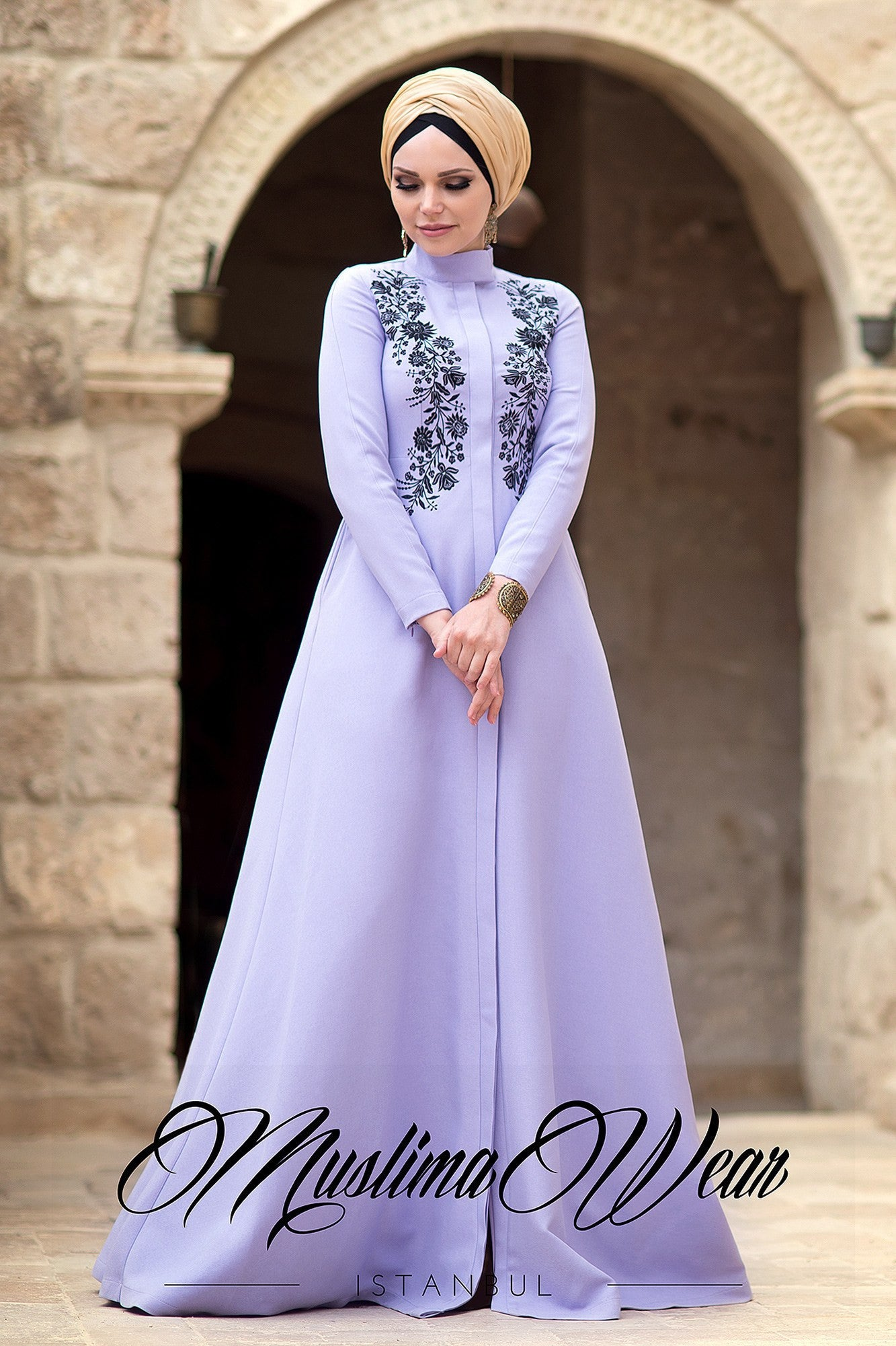 Nevbahar Dress Lavender