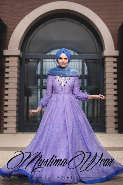 Muslima Wear 2016  -  ORCHID Chiffon Dress