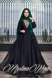 Muslima Wear French Chiffon Dress 1