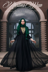 Muslima Wear French Chiffon Dress 2