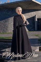 Muslima Wear Diadema Dress Black 1