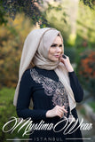 Muslima Wear Queen Hijab Beige 1
