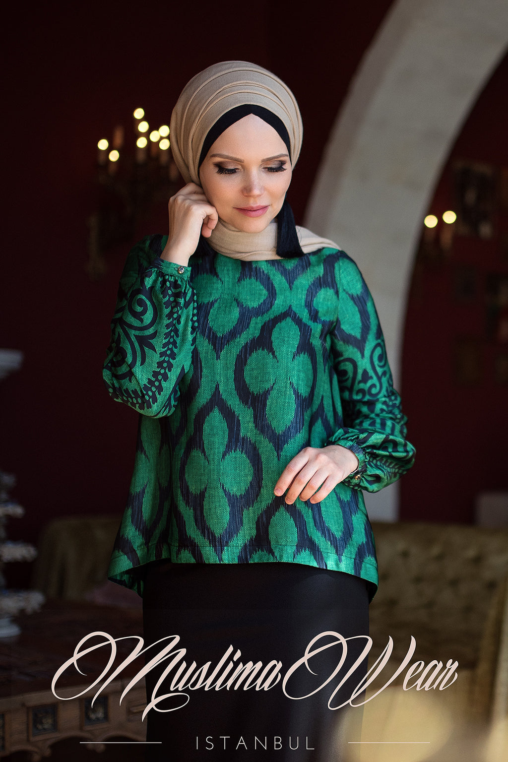 Lale Blouse Green