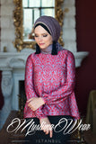 Muslima Wear Lale Blouse Ruby 2