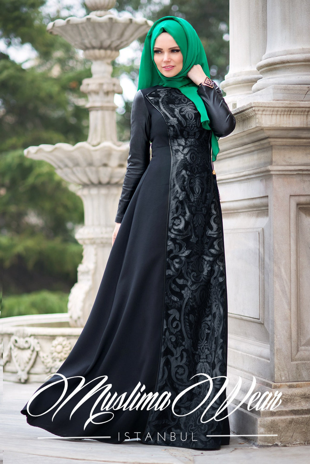 Sultan Dress Chic Black