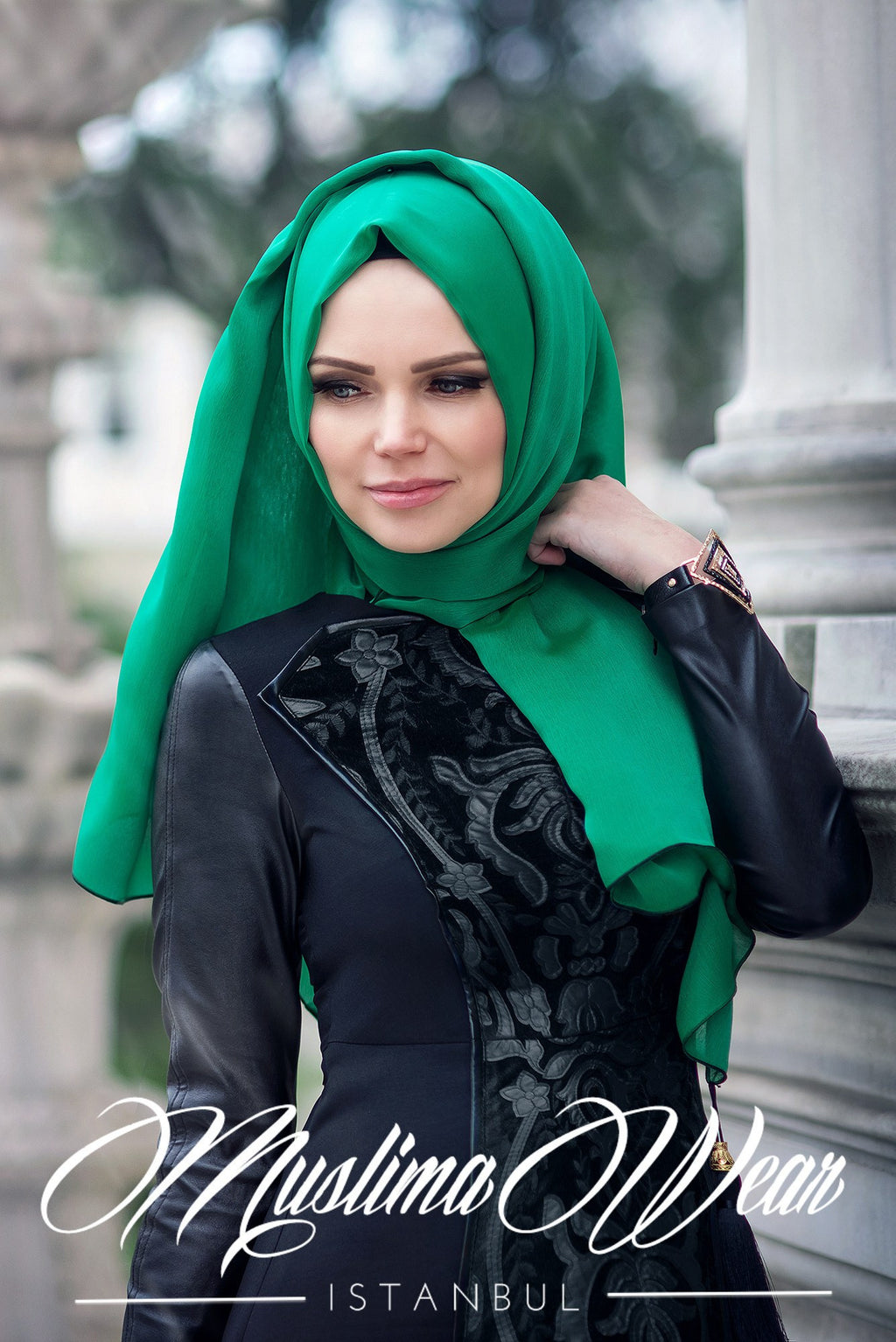 Muslima Wear Sultan Dress Black