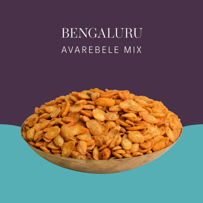 Bengaluru Avarebele Mix - Postcard - Local Flavours of India.