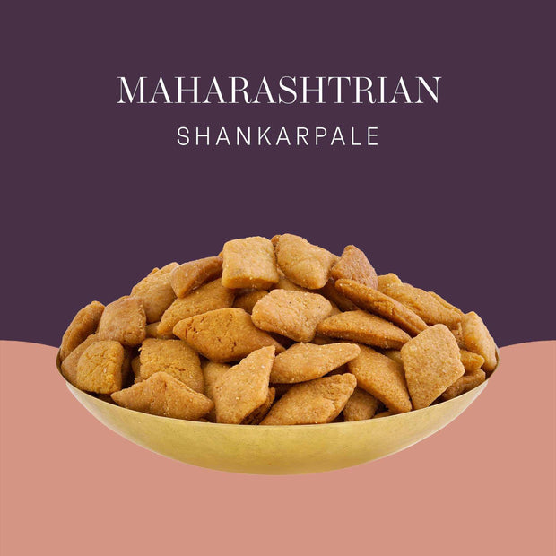 Maharashtrian Shankarpale by ThePostcard