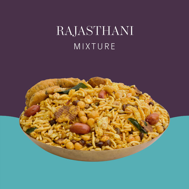 Rajasthani Mixture - Postcard - Local Flavours of India.