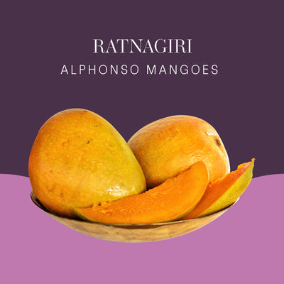 Ratnagiri Alphonso Mangoes - 6pc box