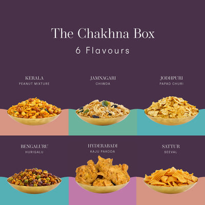 The Chakhna Box - Postcard - Local Flavours of India.