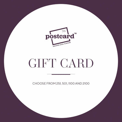 The Postcard Gift Card