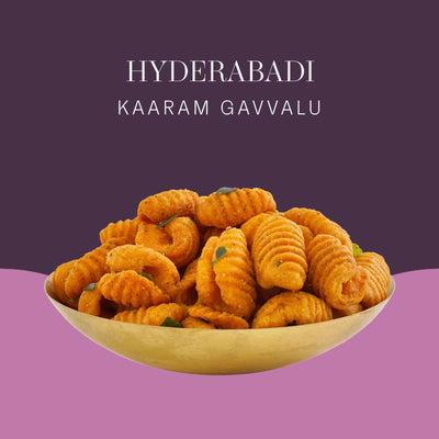 Hyderabadi Karam Gavvalu by ThePostcard
