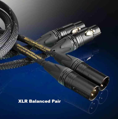 MA3 Interconnect Pair - 24 SSI Wires - Morrow Audio