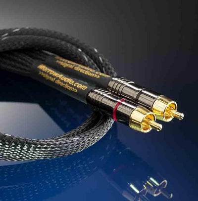 RCA Audio Cable - MA7 Interconnect - 144 SSI Wires - Morrow Audio