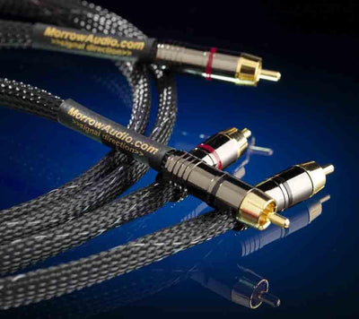 Best Cable - MA4 Interconnect Pair - 48 SSI Wires - Morrow Audio