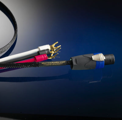 Reference REL Subwoofer Cable - 48 SSI Wires - Morrow Audio