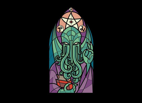 Threadless - CTHULHU'S CHURCH T-Shirt