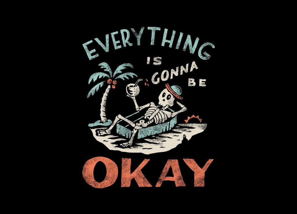 Threadless - OKAY Black T-Shirt by Tatak Waskitho