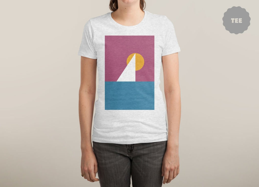 Threadless - Sail White T-Shirt by Upon