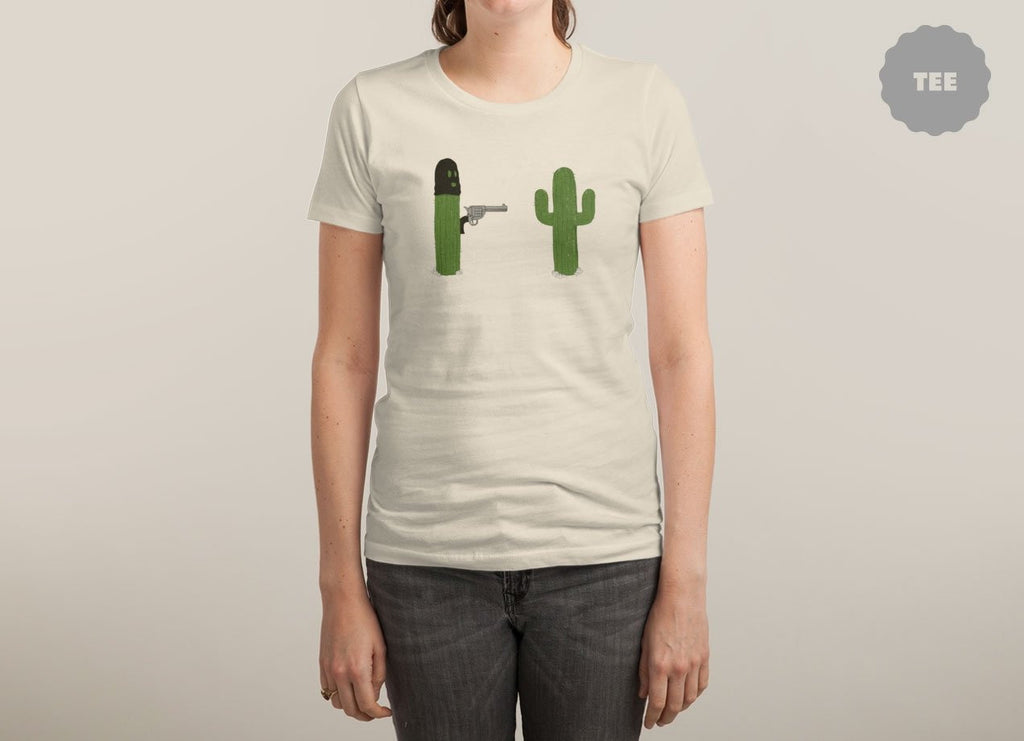 Threadless - STICK'EM UP White T-Shirt by Brandon Lilly and Phil Jones