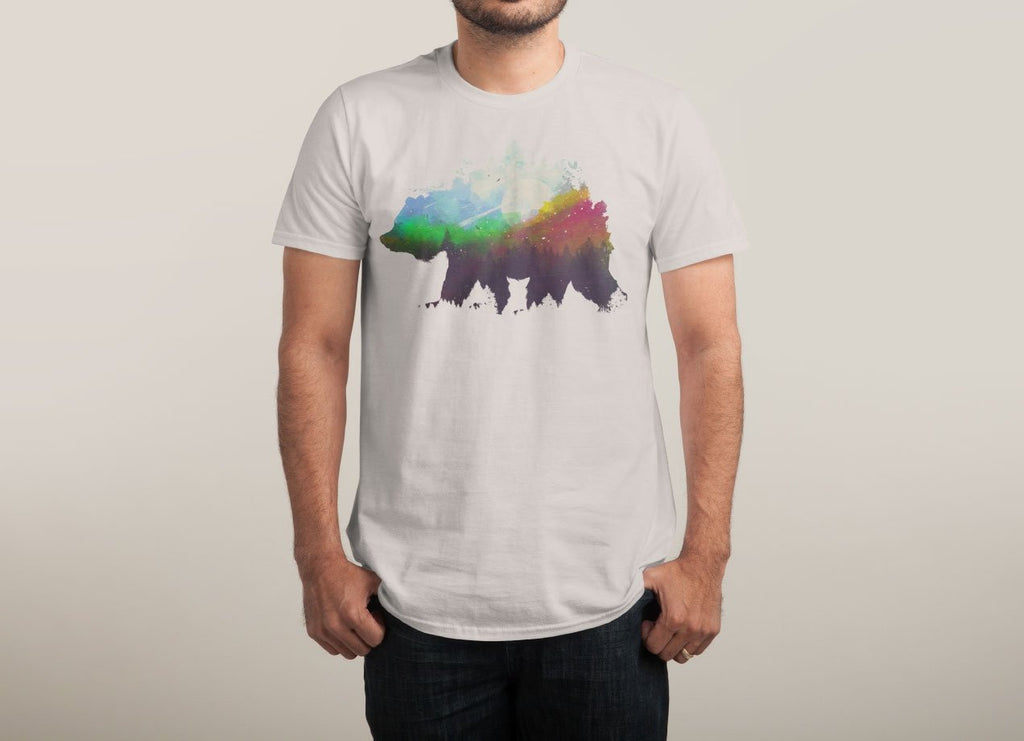 Threadless - Wild Grey T-Shirt by Robson Borges