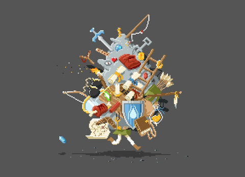 Threadless - IT'S DANGEROUS TO GO ALONE! TAKE THIS T-Shirt