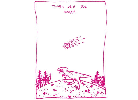 Threadless - THINGS WILL BE OKAY T-Shirt