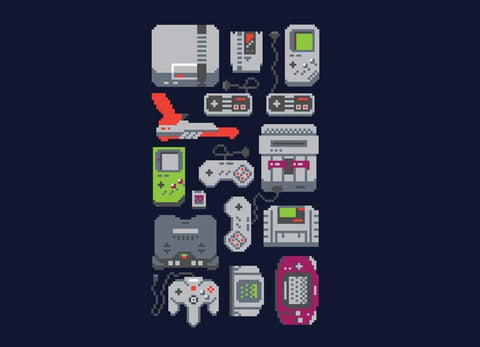Threadless - A PIXEL OF MY CHILDHOOD T-Shirt