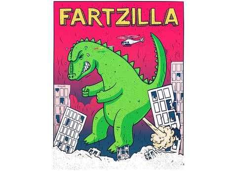 Threadless - FARTZILLA T-Shirt