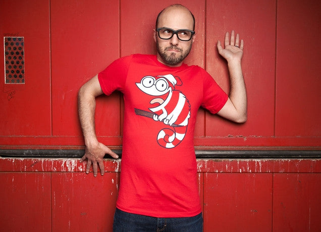 Threadless - CAN'T FIND ME! Red T-Shirt by Constanza Yovaniniz