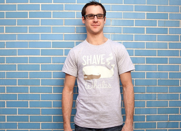 Threadless - SHAVE THE WHALES T-Shirt