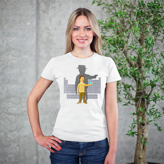 Artokingo - Walter White T-Shirt by Elan Harris