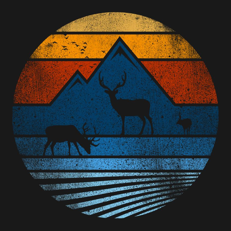 Artokingo - Wild Life Black T-Shirt by Jun Salazar