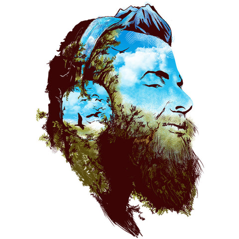 Artokingo - Beard Forest T-Shirt